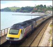 London to Falmouth train